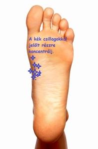 lábkijelölve